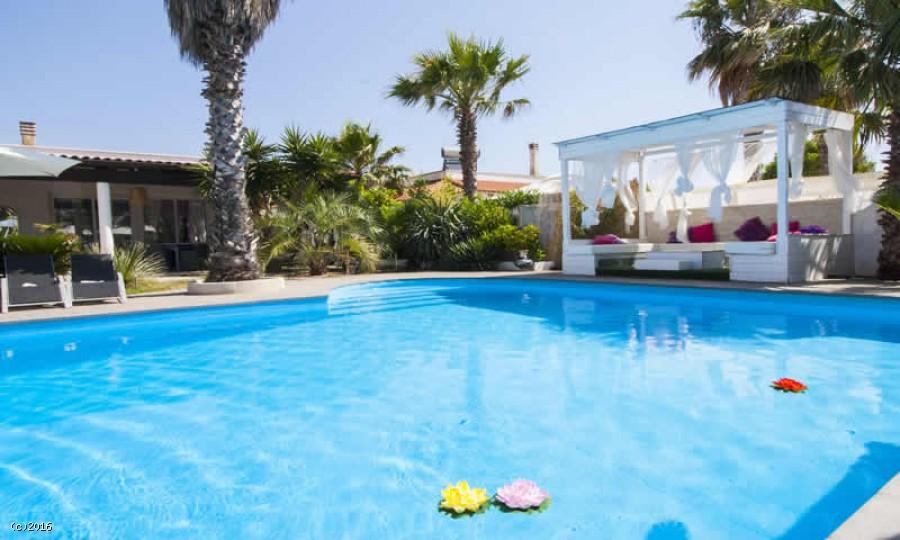 Villa in affitto con piscina a Gallipoli