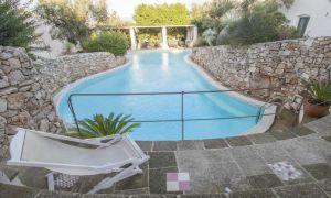 Trullo con piscina in affitto nel salento