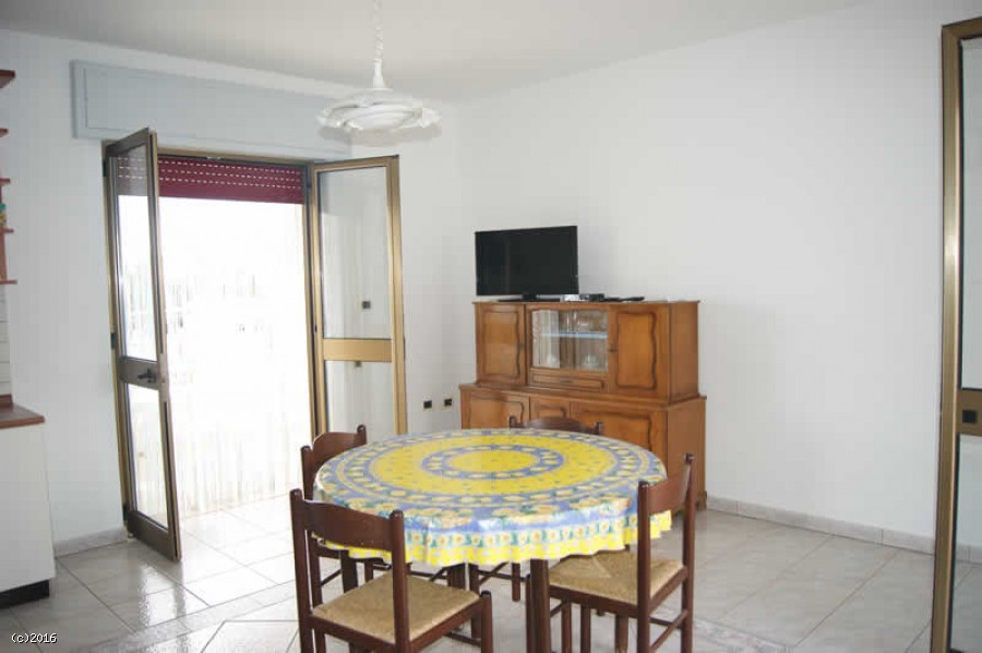 Appartamento fronte spiaggia a Pescoluse