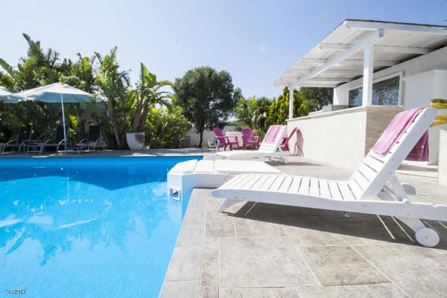 Ville con piscina a Gallipoli