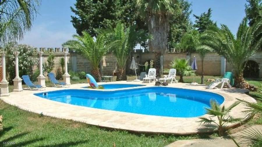 Villa con piscina nel salento in affitto per le tue vacanze - Ville con piscina ...