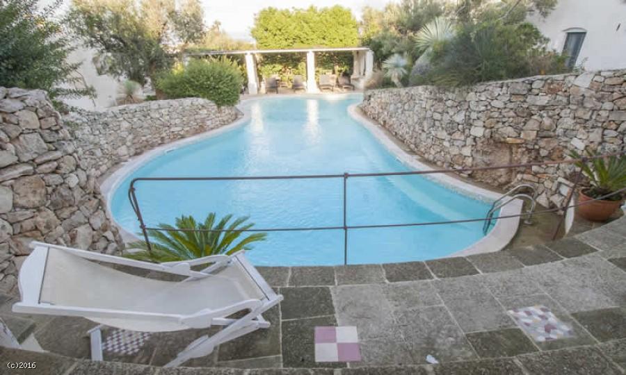Trullo in affitto nel salento il massimo del comfort per le vacanze - Affitto casa con piscina ...