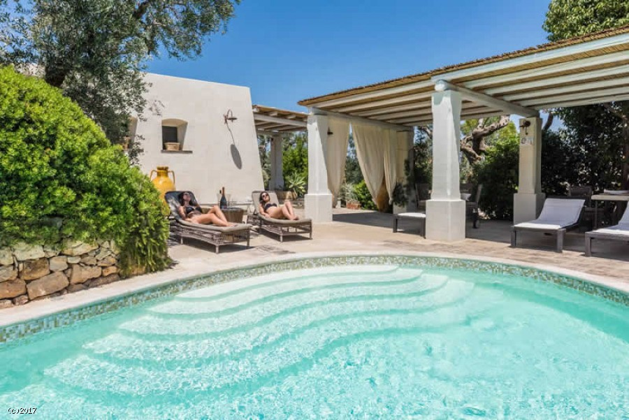 Villa bilocale con piscina salento